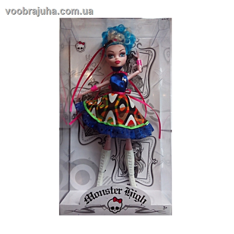 Куколка Monster High - на шарнирах